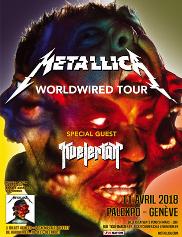 Metallica – Worldwired Tour