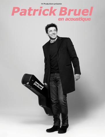 Patrick Bruel Acoustique
